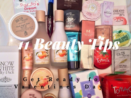 11 Beauty Tips for Valentine's Day
