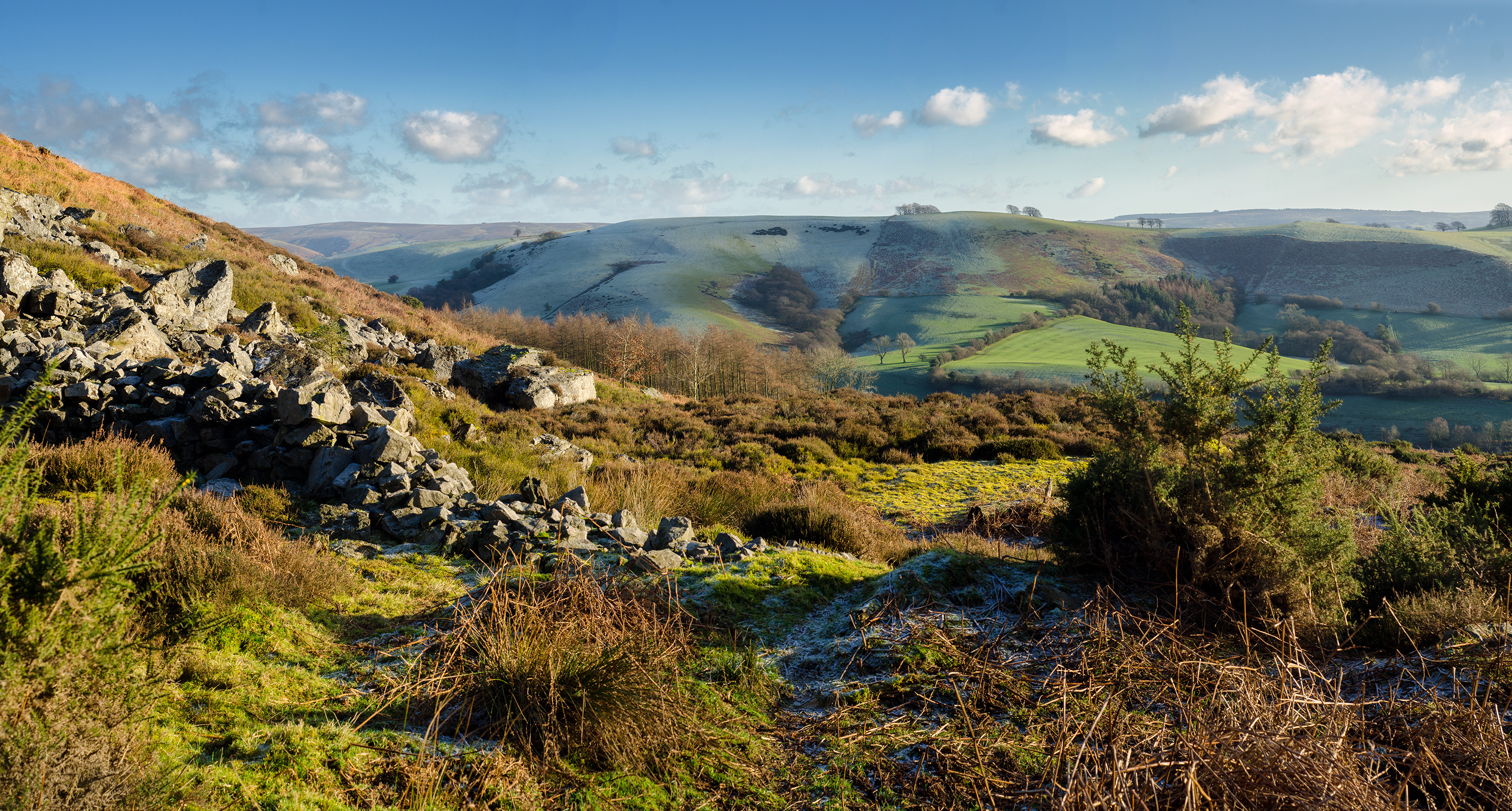 The Stiperstones in the Shropshire Hills