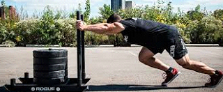 February Challenge: Sled Push for Time