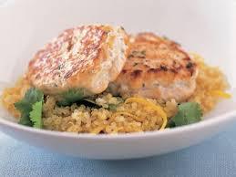 Thai Fish cakes on quinoa