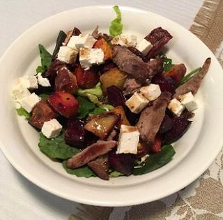 Lamb and Roast Vege Salad