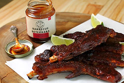Cook Sauce | Costelinha Laqueada ao Molho Barbecue de Beterraba