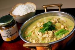 Cook Sauce Frango ao Curry tailandês