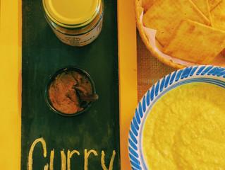 Pastinha de Ricota com Curry