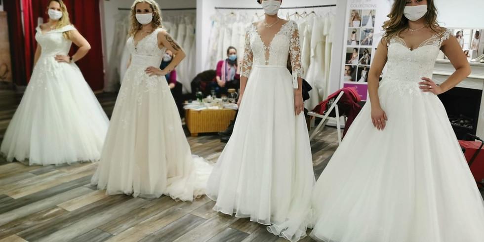 Brautmodenschau