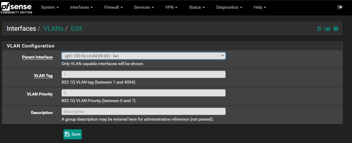 How To Configure VLANs in pfSense | CruSec | Blog