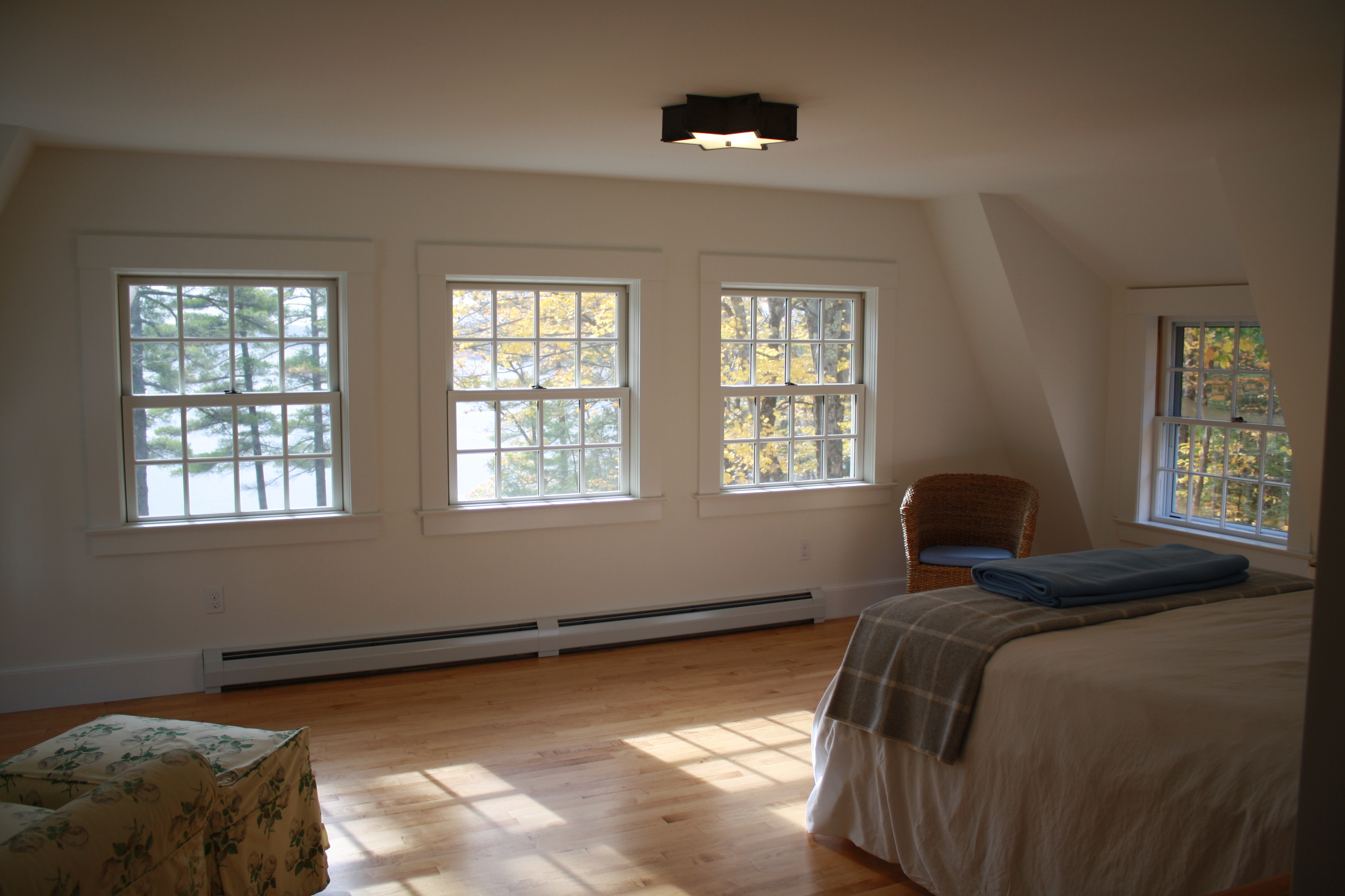 Expanded master suite