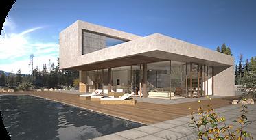 Post production pour Visualisation architecturale 3D