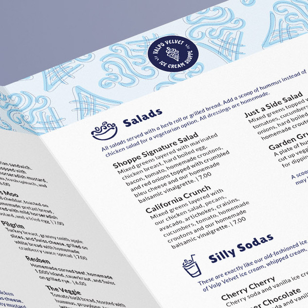 IDENTITY, PACKAGING, AND MENU DESIGN