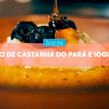 Bolo de Castanha do Pará e Iogurte