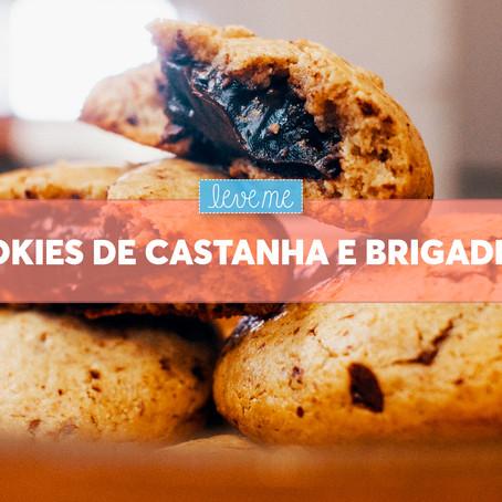 Cookies de Castanhas e Brigadeiro