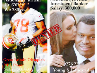 White Wife of Black NFL Player and Great Britain Olympian is Suing NYC Investment firm for being har