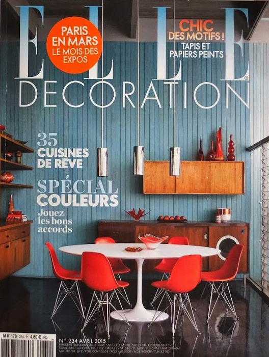 Elle Deco - Avril 2015 - Cover