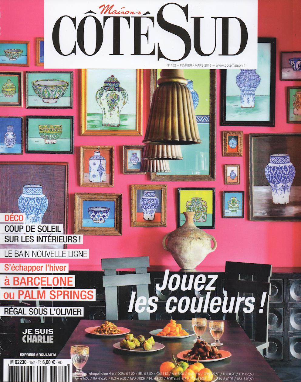 Cote Sud - Fevrier 2015 - Cover