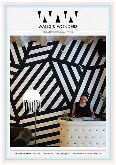 walls and wonders, creative wall painting, sidney feret
