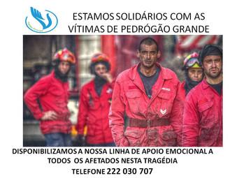 Vozes Amigas de Esperança de Portugal solidária com as vítimas de Pedrógão Grande