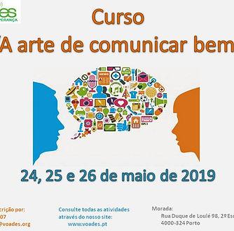 Cartaz Arte de comunicar bem nova data.j