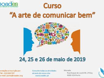 """Curso """"A ARTE DE COMUNICAR BEM"""" na VOADES-PORTO"""