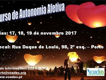 O Curso de Autonomia Afectiva na VOADES - Porto