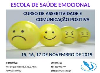 """""""Assertividade e Comunicação Positiva""""."""