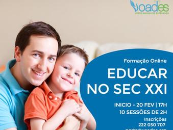 """Educar no Século XXI""  - Novo Curso Online"