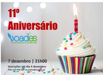 VOADES - Portugual celebra o seu 11º aniversário