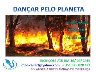 """""""Dançar pelo planeta"""" na VOADES-Porto"""