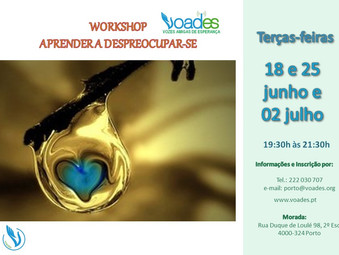 Workshop: Aprender a Despreocupar-se