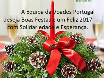Vozes Amigas de Esperança- Portugal deseja a todos umas BOAS FESTAS.