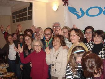 Vozes Amigas celebra o seu 8º Aniversário num magnífico convívio de Natal
