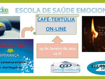 NOVO CAFÉ-TERTÚLIA ON-LINE NA VOADES-PORTO