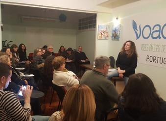 """A conferência """"COMUNICA BEM E VIVE MELHOR"""" foi mais um sucesso na Escola de Saúde Emociona"""