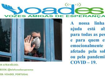 VOADES - Portugal junto de si em tempos de confinamento