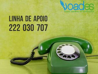 Linha de Apoio da VOADES - Portugal aumenta em 20% o volume de chamadas.