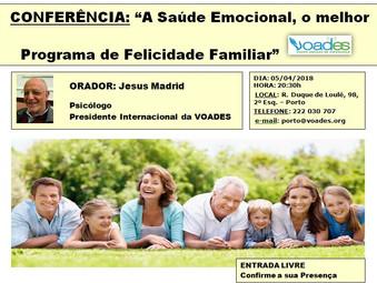 """""""A SAÚDE EMOCIONAL, O MELHOR PROGRAMA DE FELICIDADE FAMILIAR"""""""