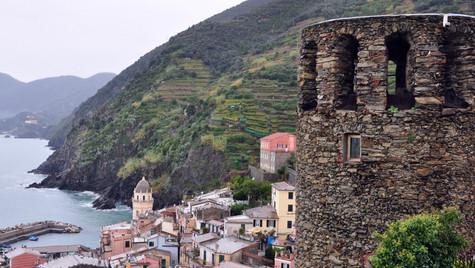 Cinque Terre, Italy - Cliff View (October 2010)