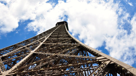 A different perspective - Eiffel Tower, Paris France (July 2012)