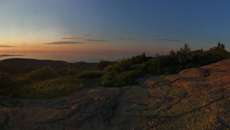 Sunbreak - Cadillac Mountain, Maine (August 2017)