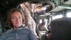 Humvee en Bartella con ej. iraquí