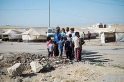 Campo de Desplazados, Khanke, Irak