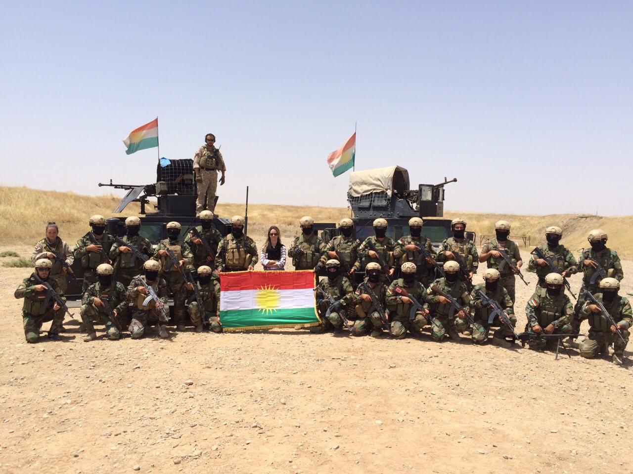 Campo de entrenamiento Peshmerga