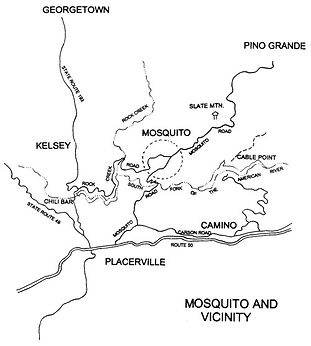 Map of the Mosquito Area
