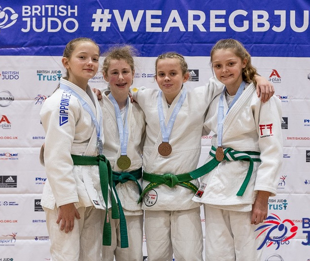 PreCadet Girls Medal presentation - Dece