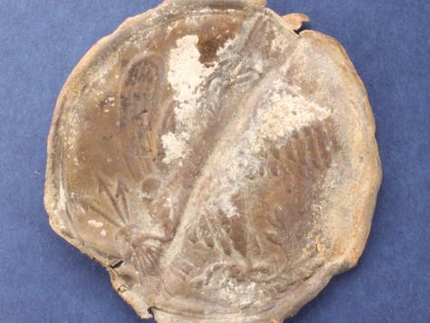 Civil War Union Eagle Breastplate Found and Restored!