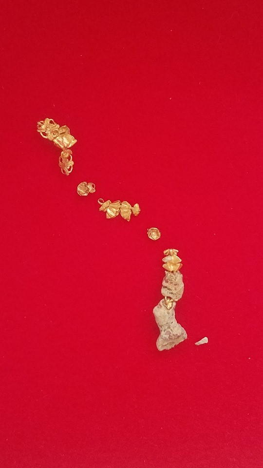 Gold Rosary Remnants