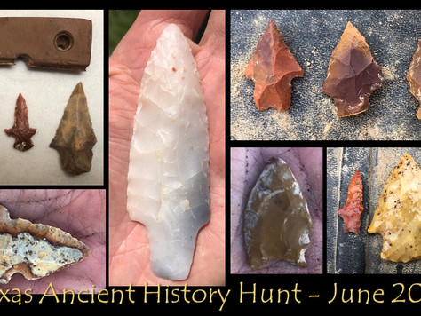 June 2019 Texas Ancient History Hunt Highlights