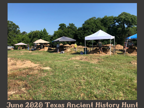 Texas Ancient History Hunt a Hit!