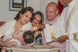 Antônia - Batizado