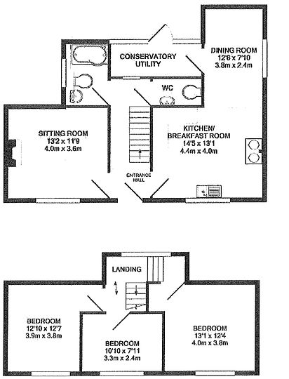 Fairway Cottage Floor Plan