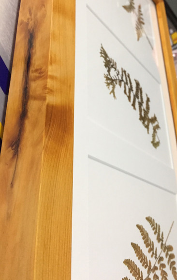 handmade: eco-friendly rosewood stain on salvaged white cypress